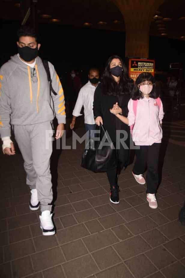 Abhishek Bachchan, Aradhya Bachchan
