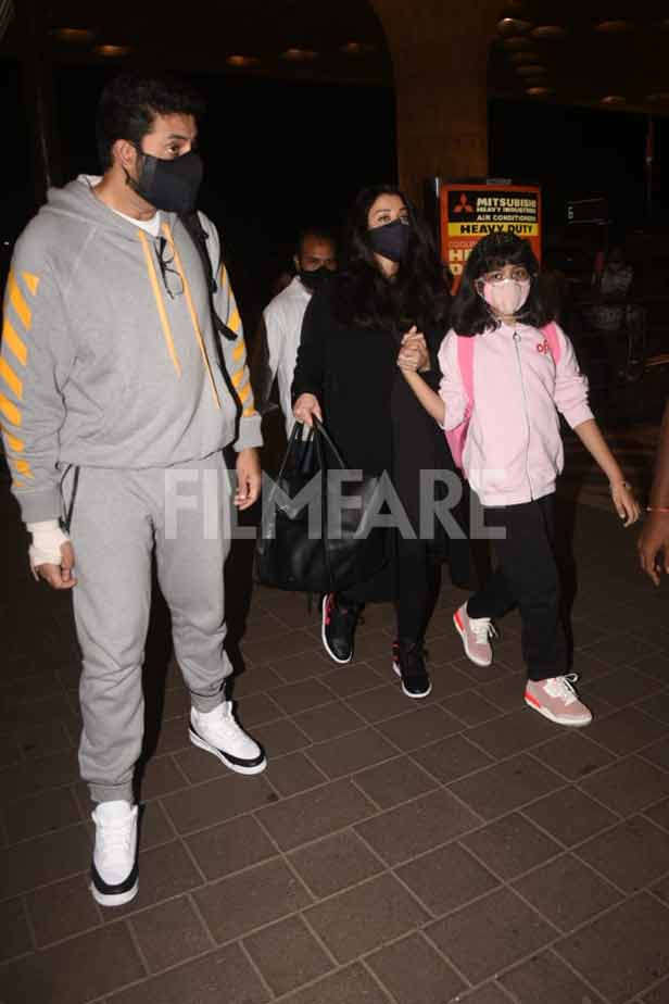 Abhishek Bachchan, Ishwariya Rai Bachchan, Aradhya Bachchan