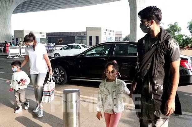 Misha Kapoor, Mira Kapoor, Zain Kapoor, Shahid Kapoor