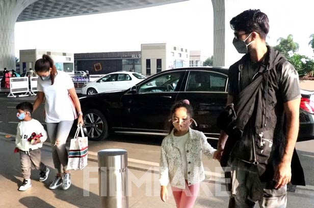 Jain Kapoor, Mira Kapoor, Misha Kapoor, Shahid Kapoor