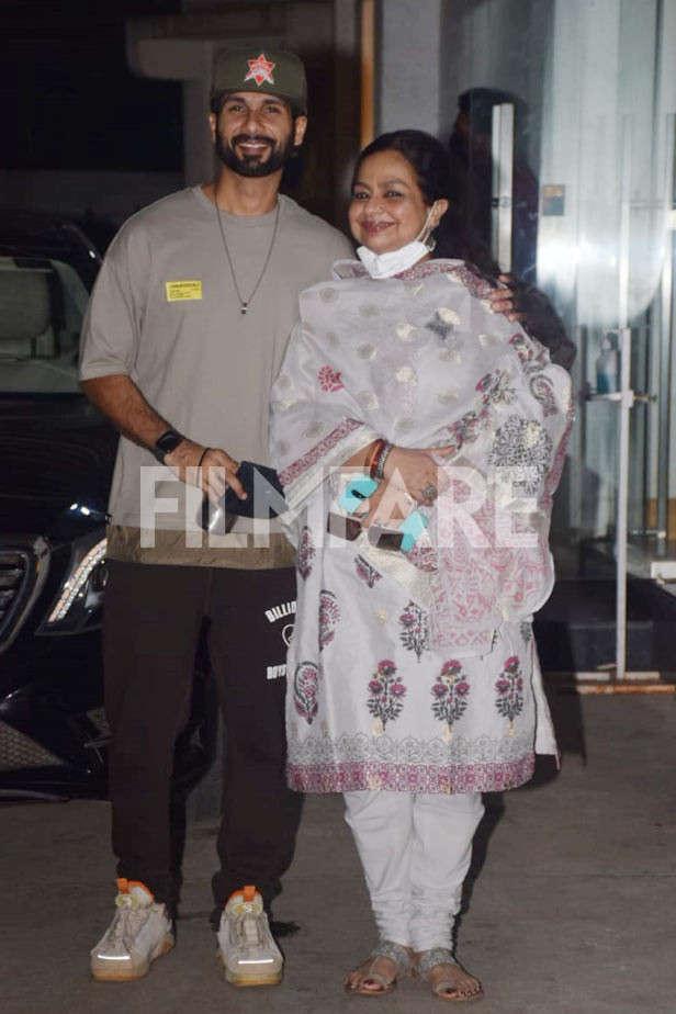 Shahid Kapoor, Nilima Azim