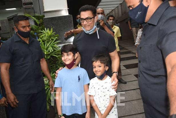 Kiran Rao, Azad Rao Khan, Amir Khan
