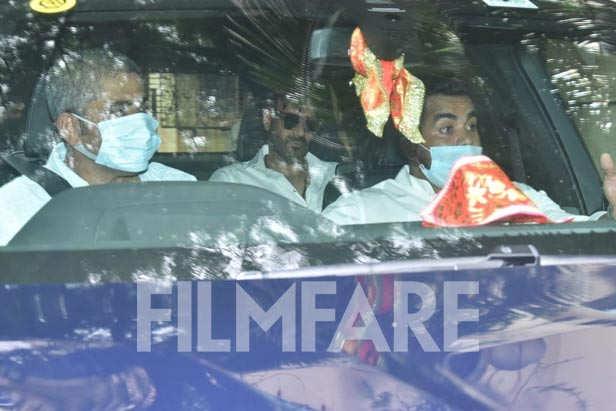 Ajay Devgn, Karan Johar, Huma Qureshi