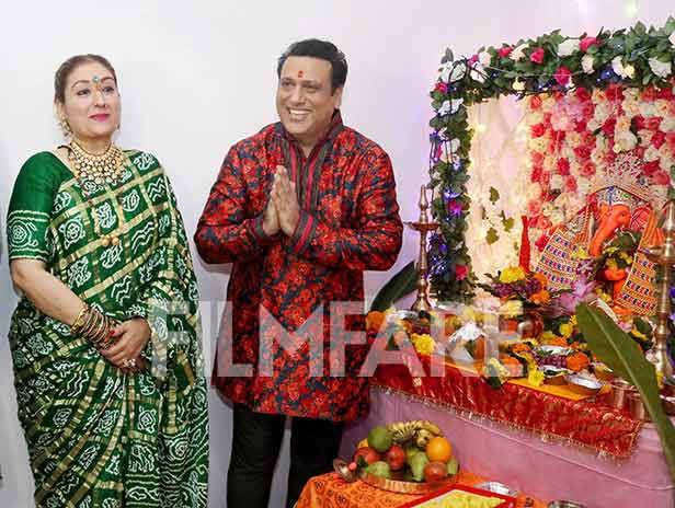 Yashvardan Ahuja, Sunita Ahuja, Govinda