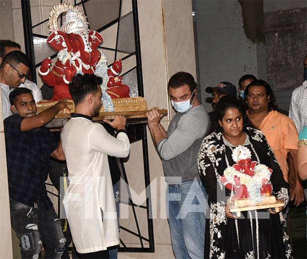 Sohail Khan, Arpita Khan, Aayush Sharma