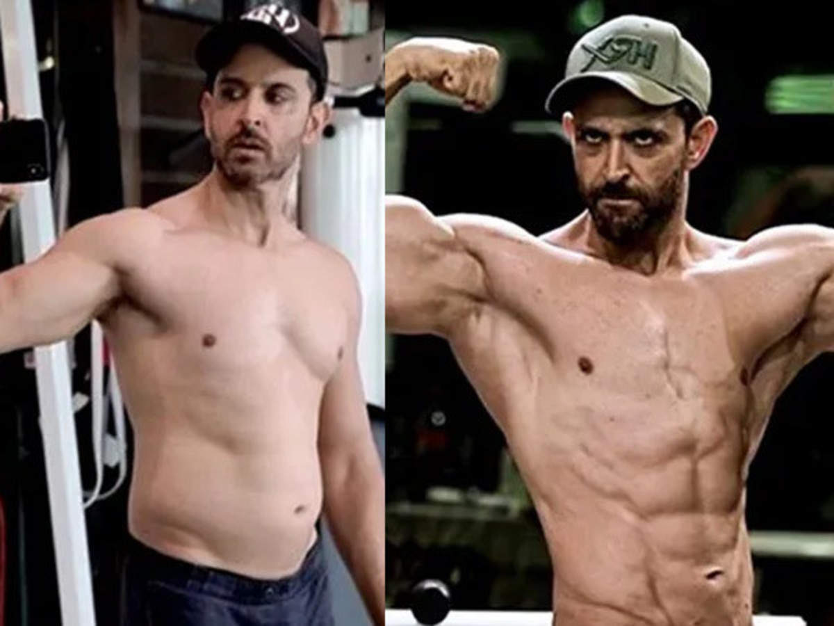 5 times Hrithik Roshan transformed his physique for a character |  Filmfare.com