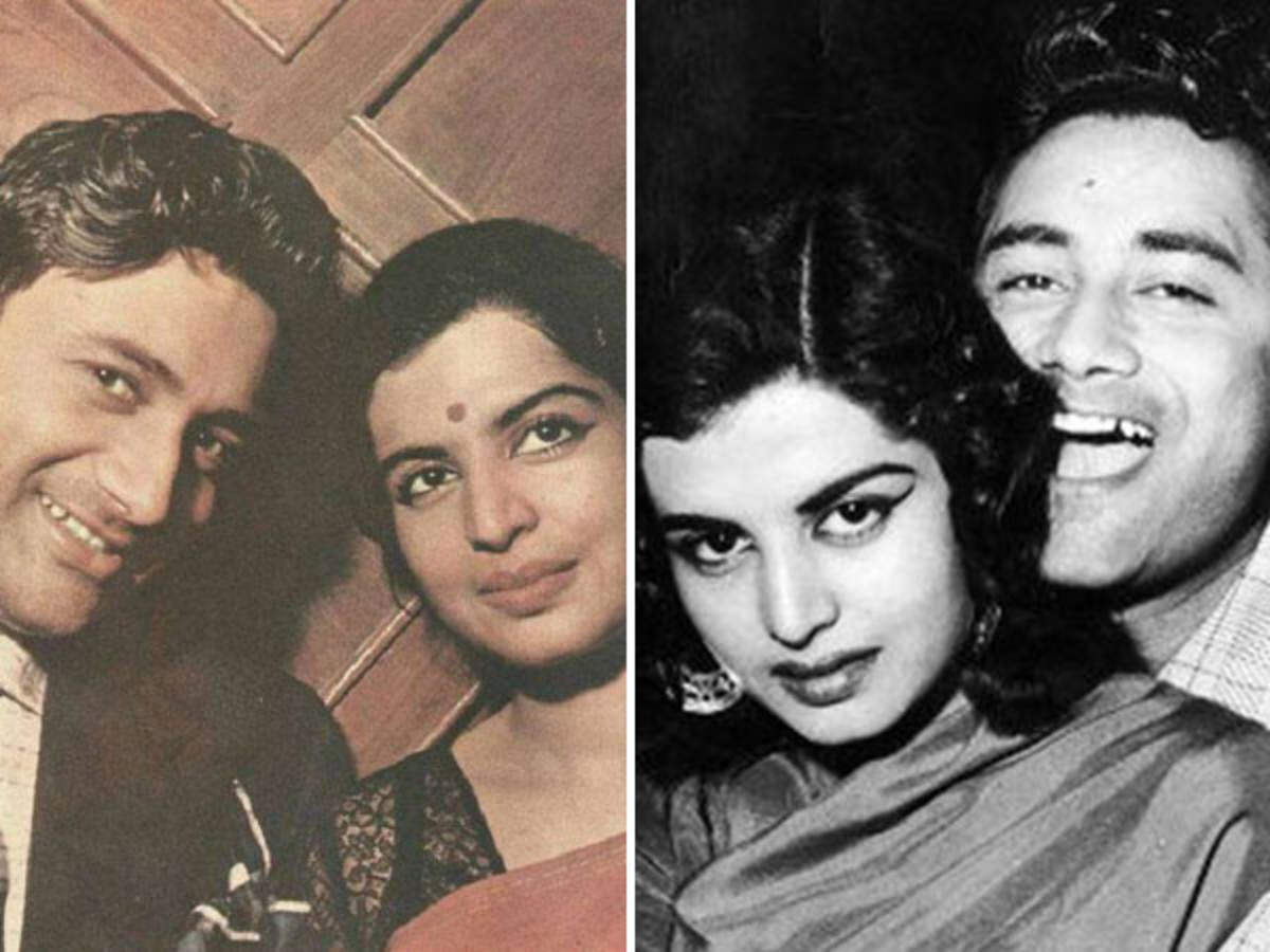 Blast from the past: Dev Anand weds Kalpana Kartik during a ...